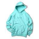 STANDARD LOGO hooded sweatshirt【Mint】