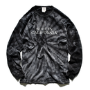 【予約商品】SURF IN CALIFORNIA Tie Dye  Long Sleeve Tee【Tie Dye Black】