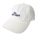 CAL.WEST COAST  Low CAP【 White】