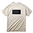 ALOHA GOOD LUCK BOX LOGO  Tee  【Sand】