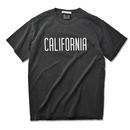 CALIFORNIA crack logo Pigment-Dyed  Tee【Pepper】