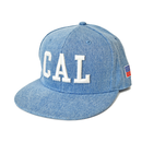 CAL.WEST COAST  Flat Visor Cap【Light Denim】