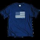 The American flag  Tee  【 Dark Indigo】