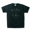 SURF IN CALIFORNIA  Tee  【Black】