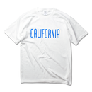CALIFORNIA LOGO Tee  【White】