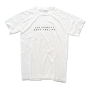 L.A GOOD FEELING Pigment-Dyed  Tee【White】