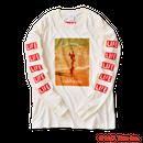 YouthFUL SURF × LIFE Long Sleeve Tee【White】
