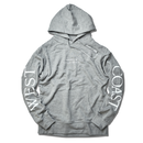 WEST COAST Sleeve Logo hooded sweatshirt【Gray】