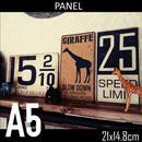 A5サイズ(パネル付き)