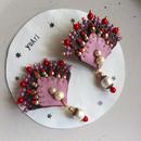 扇子の耳飾り<毒入りケーキ>