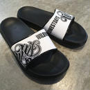 WILDWESTDAYS Slipper / 01 (Black / White)