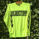 WWD Long Sleeve Tee / Fire (Color: neon yellow)