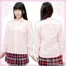 長袖シャツ単品 色:ピンク サイズ:M/BIG