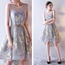 秋 新作♡刺繍 シースルー ドレス ワンピース 大きいサイズあり