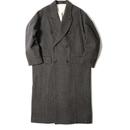【CNLZ】 W Long  Coat/ シーエヌエルゼット ダブル ロングコート