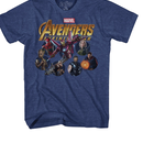 【予約受付中】  Avengers infinity war  Tシャツ