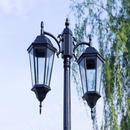 ヨーロッパ風街灯 ストリートライト  照明 屋外ランプ ガーデン 庭 通路 防水アルミダイカスト