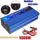 車のインバータ 12ボルト220ボルト 5000ワット インバータ変更された正弦波電圧 トランスダブル led デジタル表示