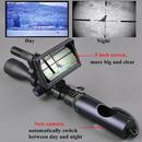 ナイトビジョン ライフルスコープ アウトドア ハンティング スコープ 視力戦術 デジタル 赤外線 バッテリモニタ 懐中電灯