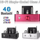 真空管アンプ 6P14(EL84) Bluetooth 4.0 ステレオ シングルエンドクラスA パワーアンプ 3色展開