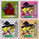 第2弾「妖怪レスラー」魔女(マージョ)4枚セット
