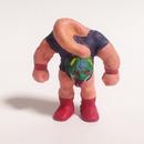 妖怪レスラー・ロクロマスク(彩色)プラスチック人形
