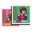 第1弾 妖怪レスラー【シール版】(ノーマル) ろくろ首(ロクロマスク)