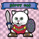 【海外版】キャッツオブサードストリート「stray cat」(桃プリズム)