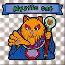 【海外版】キャッツオブサードストリート「mystic cat」(銀プリズム)