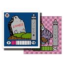 第1弾 妖怪レスラー【シール版】(桃プリ・ピンク)ゾンビの墓(ゾンビマン)