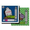 第1弾 妖怪レスラー【シール版】(緑プリ・グリーン) ゾンビの墓(ゾンビマン)