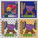 第2弾「妖怪レスラー」ぬりかべ(ぬりかべマン)4枚セット