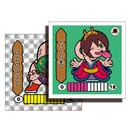 第1弾 妖怪レスラー【シール版】(銀プリ・シルバー) ろくろ首(ロクロマスク)