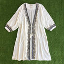 DAZZLE・Embroidery Long Cardigan(7S36003E)
