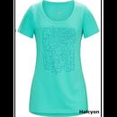 ARC'TERYX Block SS Tシャツ Women's