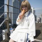 【4/22より通販開始】セーラートップス+プリーツスカートセットアップ/ホワイト