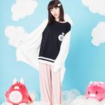 【5月3日より通販開始】星たぬきTシャツ BLK