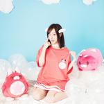 【5月3日より通販開始】星たぬきTシャツ PNK