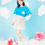 【5月3日より通販開始】星たぬきTシャツ BLU