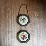 antiques 鳥のタペストリー