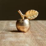 antiques 金の林檎のカードスタンド