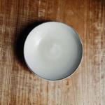 広川絵麻  5寸皿(白)  ①