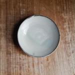 広川絵麻  5寸皿(白)  ②