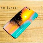 ハワイフォト iPhoneハードカバー Kona Sunset 5/6SE, 6/6s, 6Plus/6S Plus対応