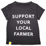 Oopsy Daze / SUPPORT YOUR LOCAL FARMER Tシャツ