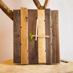 Living Wood Clock -世界中の木で作られた掛け時計-