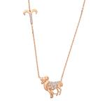 Rose Gold Zodiac Signs おひつじ座