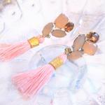 Spring Fringe earrings / Pierce
