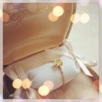 Chain ring ( yellow Saphire)