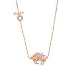 Rose Gold 925 Zodiac Taurus/ おうし座